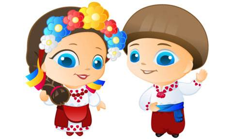 Дети - Цветы Украины | #1