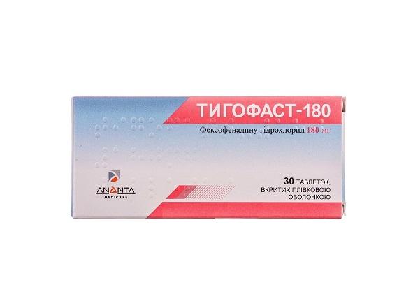 ТИГОФАСТ-180 ТАБ. 180МГ №30