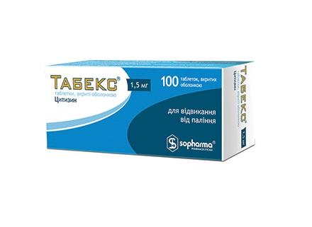 ТАБЕКС ТАБ. 1,5МГ №100