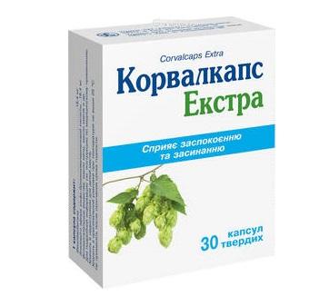 КОРВАЛКАПС ЭКСТРА КАПС.ТВ.№30