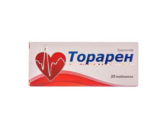 ТОРАРЕН ТАБ. 10МГ №30