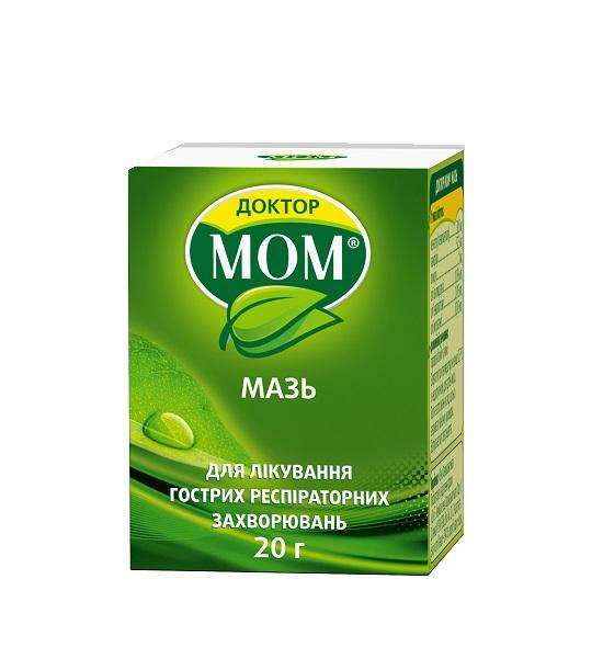 ДОКТОР МОМ МАЗЬ 20Г