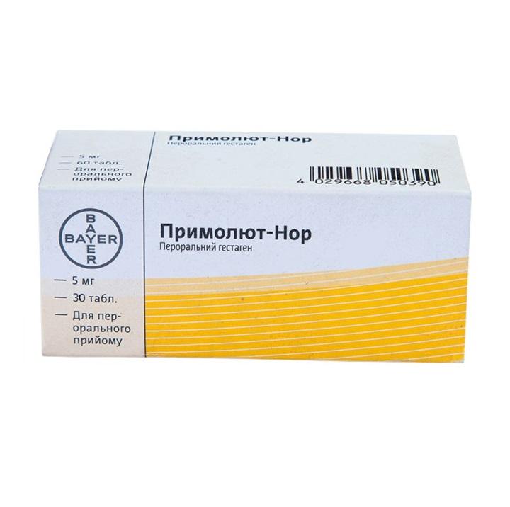 ПРИМОЛЮТ-НОР ТАБ. 5МГ №30