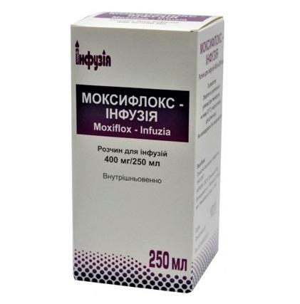 МОКСИФЛОКС-ИНФУЗИЯ 400МГ/250МЛ 250МЛ без ндс