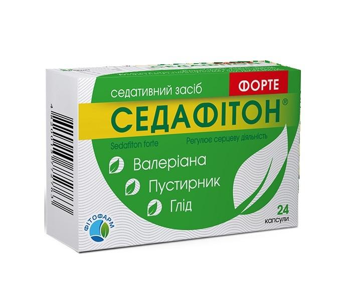СЕДАФИТОН ФОРТЕ КАПС. №24