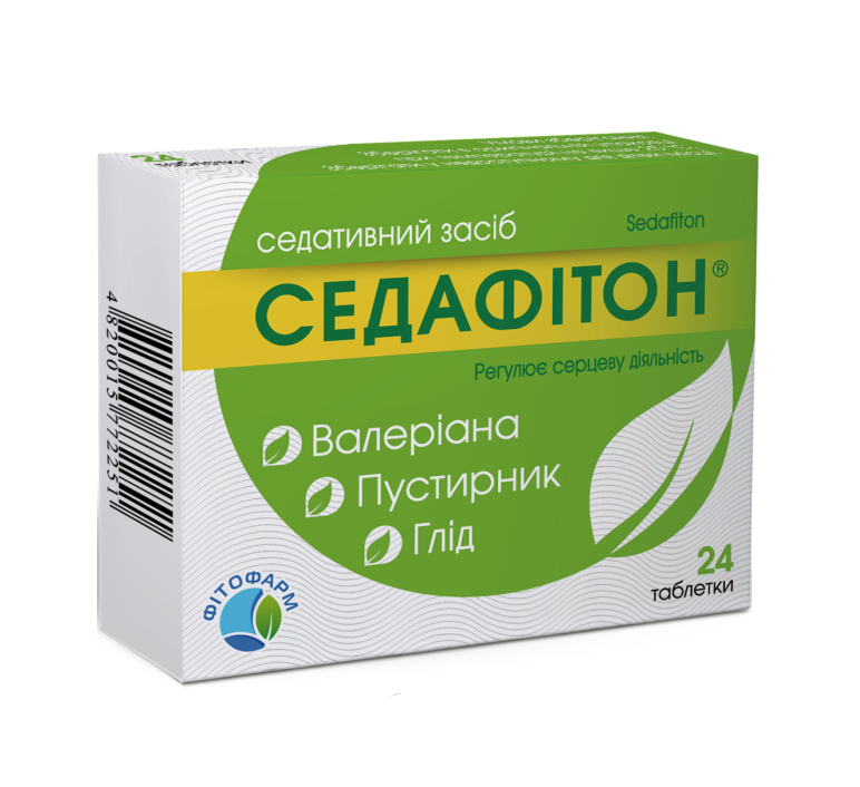 СЕДАФИТОН ТАБ. №24