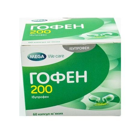 ГОФЕН 200 КАПС. №60
