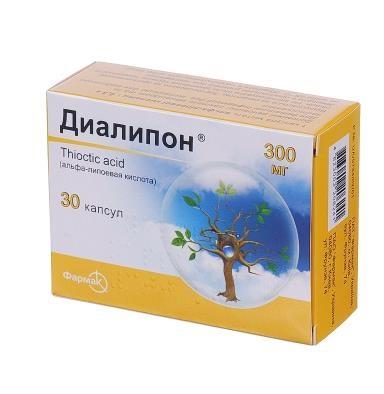 ДИАЛИПОН КАПС. 300МГ №30