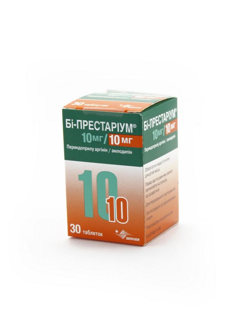БИ-ПРЕСТАРИУМ ТАБ. 10МГ/10МГ №30
