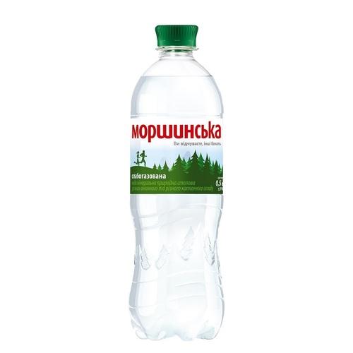 МОРШИНСКАЯ мин.вода 0,5Л (ПЭТ) сл/газ.