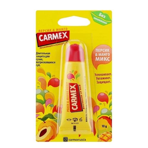 КАРМЕКС Бальзам для губ со вкусом персика и манго туба 10гр - фото 1 | Сеть аптек Viridis
