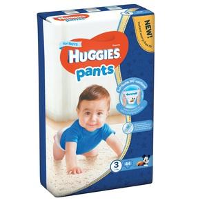 ХАГИС подгуз.-трусики Pants 3 (6-11кг) 44 шт для мальчиков