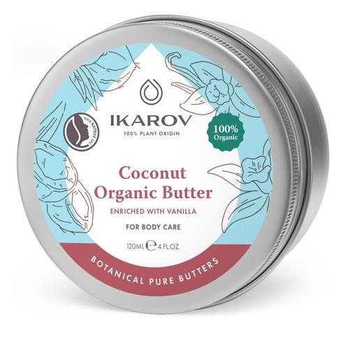 ІКАРОВ Олія кокосова з ваніллю органічна 120мл - фото 1   Сеть аптек Viridis