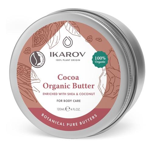 ИКАРОВ Масло какао органическое с маслом ши и кокосом 120мл - фото 1 | Сеть аптек Viridis