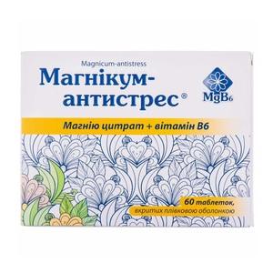 МАГНИКУМ АНТИСТРЕС ТАБ. №60
