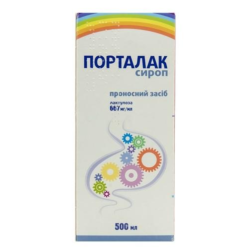 ПОРТАЛАК СИРОП 667МГ/МЛ 500МЛ №1 ФЛ.* - фото 1   Сеть аптек Viridis