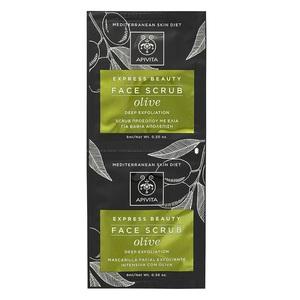 АПИВИТА EXPRESS BEAUTY Скраб для лица с оливкой