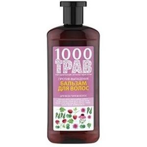 1000 ТРАВ Бальзам для волос Против выпадения 500мл