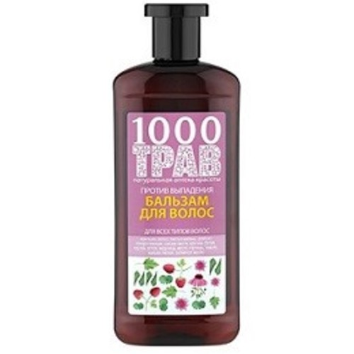 1000 ТРАВ Бальзам для волос Против выпадения 500мл купить в Ирпене