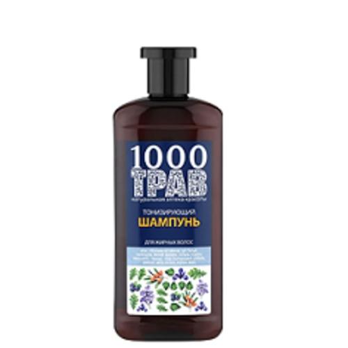 1000 ТРАВ Шампунь для волос Тонизирующий 500мл