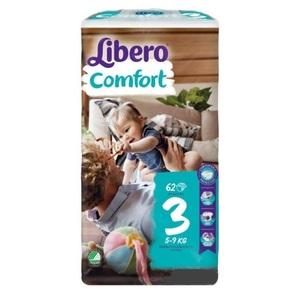 ЛІБЕРО Comfort 3 (4-9кг) №62