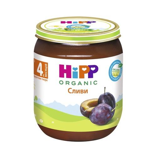ХІПП Пюре фруктове Слива 125 г - фото 1 | Сеть аптек Viridis