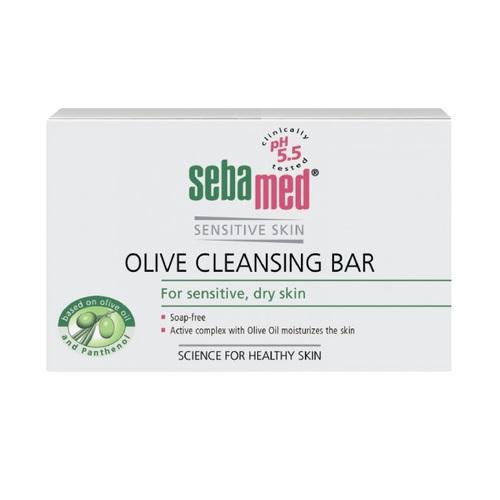 СЕБАМЕД Мыло очищающее оливковое 150гр - фото 1 | Сеть аптек Viridis