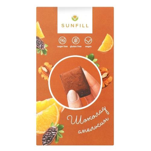 Санфилл Конфеты Шоколадные с апельсином 150г - фото 1 | Сеть аптек Viridis