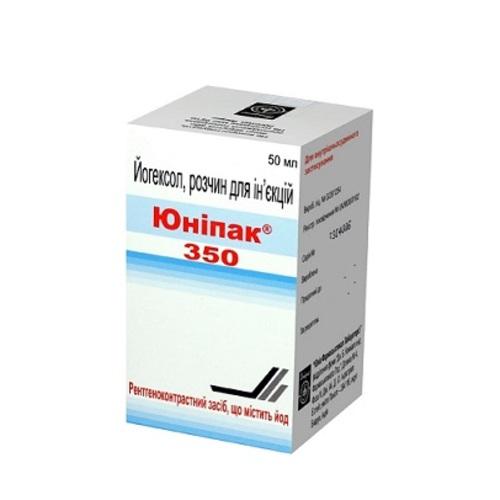 ЮНІПАК Р-Н Д/ІН. 350МГ/МЛ 50МЛ. ФЛ. №1 - фото 1   Сеть аптек Viridis
