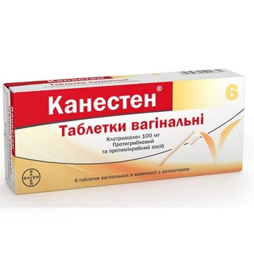 КАНЕСТЕН ТАБ. ВАГ. 100МГ №6