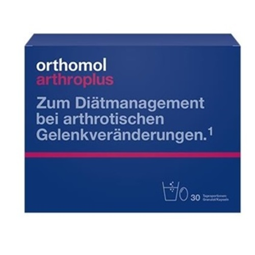 ОРТОМОЛ Arthro Pluse гран + капсули (здоров'я кісток та суглобів) - фото 1 | Сеть аптек Viridis