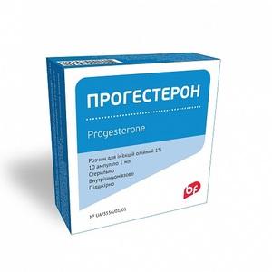 ПРОГЕСТЕРОН АМП. 1% 1МЛ №10