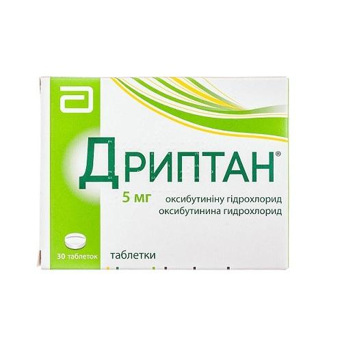 ДРИПТАН ТАБ. 5МГ №30 - фото 1 | Сеть аптек Viridis