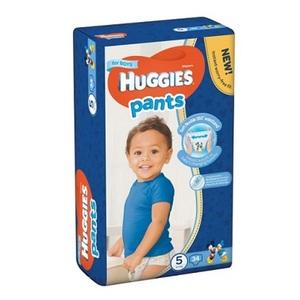 ХАГИС подгуз.-трусики Pants 5 (12-17кг) 34шт для мальчиков