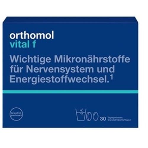 ОРТОМОЛ Vital F гранули (для жінок) 30 днів - фото 1 | Сеть аптек Viridis