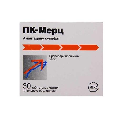 ПК-МЕРЦ ТАБ. 100МГ №30