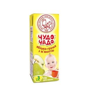 ЧУДО-ЧАДО Сік Груша-Яблоко 200мл
