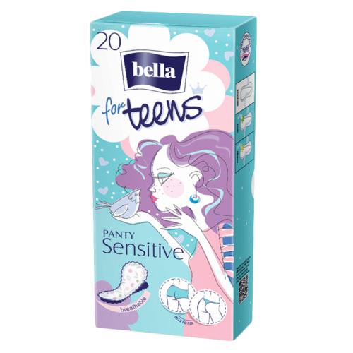 БЕЛЛА Прокладки гігієн. щоден. For Teens Sensative 20шт - фото 1 | Сеть аптек Viridis