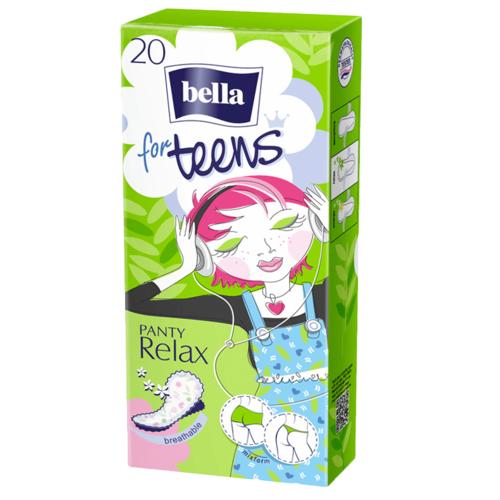 БЕЛЛА Прокладки гігієн.щоден. For Teens Relax 20шт - фото 1 | Сеть аптек Viridis