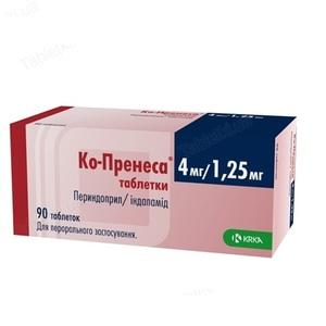 КО-ПРЕНЕСА ТАБ. 4МГ/1,25 №90