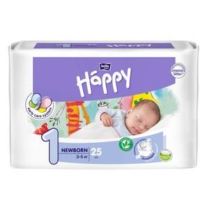 БЕЛЛА Підгузники д/діт. Baby Happy New Born 2-5кг №25