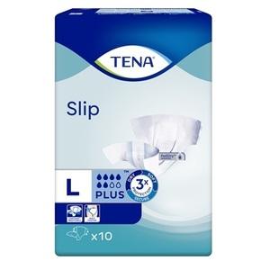 ТЕНА Підгузки д /взр.Slip Plus Large 10 (дихаючі)