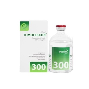 ТОМОГЕКСОЛ Р-Р Д/ИН. 300МГ/МЛ 100МЛ ФЛ. №1