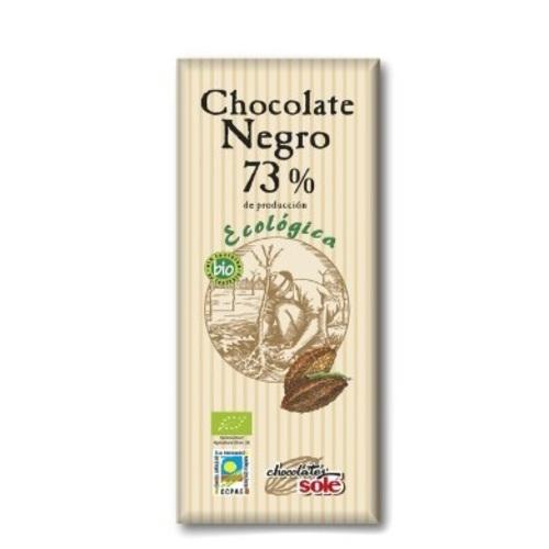ШОКОЛАД темный 73% какао органический 25г