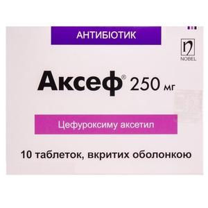 АКСЕФ ТАБ. 250МГ №10