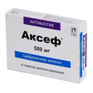 АКСЕФ ТАБ. 500МГ №10
