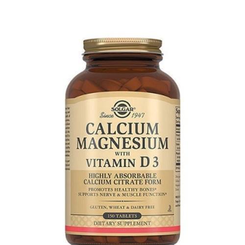 СОЛГАР Кальцій-магній з вітаміном D3 таб. №150 - фото 1 | Сеть аптек Viridis