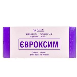 ЕВРОКСИМ ПОР. Д/ИН. 1,5Г ФЛ. №10
