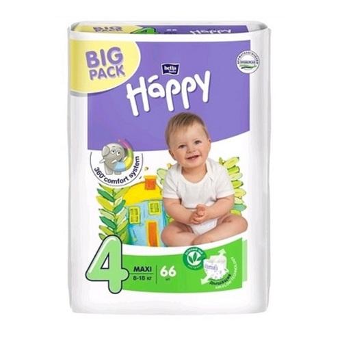 БЕЛЛА Підгузники д/діт. Baby Happy Maxi 8-18кг №66