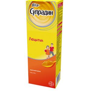 ВИТА-СУПРАДИН ЛЕЦИТИН ГЕЛЬ 175Г
